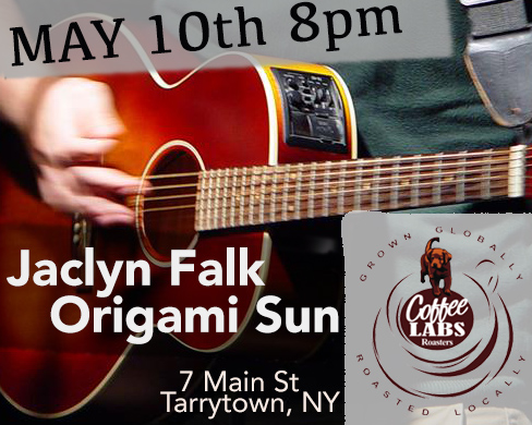 Jaclyn Falk and Origami Sun at Coffee Labs Roasters